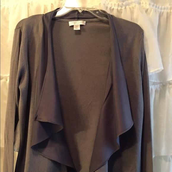 Christopher & Banks Sweaters - Gray Christopher&Banks cardigan petite medium
